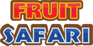 Fruit Safari game title text logo